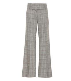 metropolitan checked pants