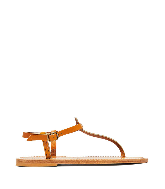 picon t-bar leather sandals