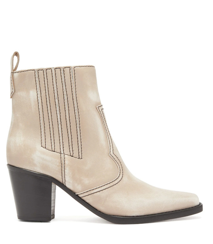 callie western ankle boots