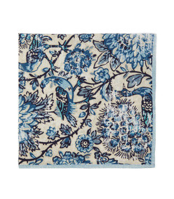 set of four coromandel floral-print napkin set