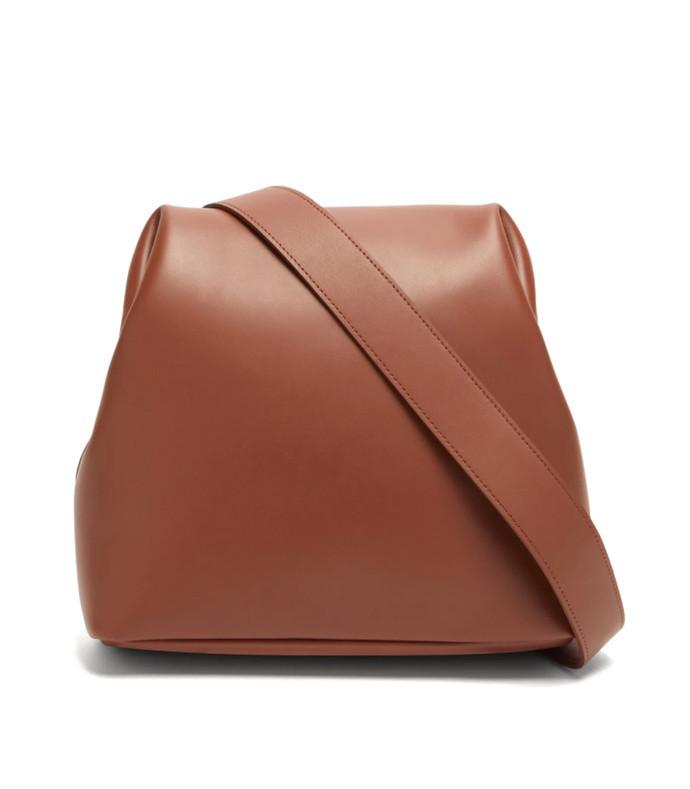 brot medium leather cross-body bag