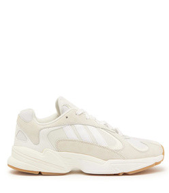 x adidas yung-1 mesh and nubuck trainers