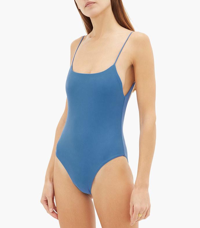 trophy scoop-back swimsuit