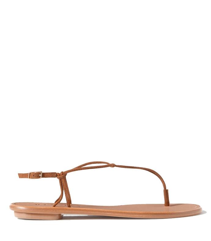 very capri suede sandals