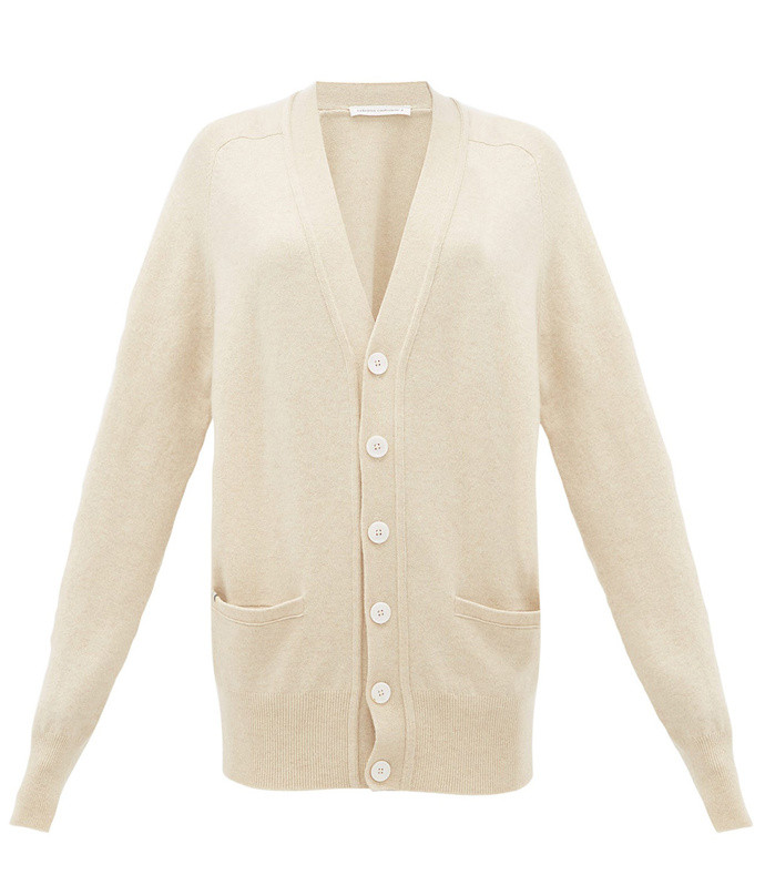 no. 117 stretch-cashmere cardigan