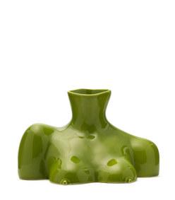 breast friend ceramic vase