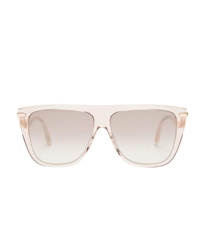 suvi flat-top acetate sunglasses