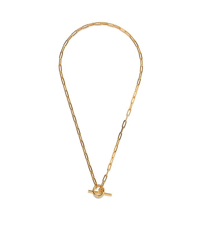 love link 14kt gold-vermeil necklace