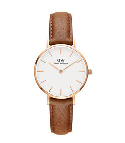 28mm classic petite durham watch w/ leather strap