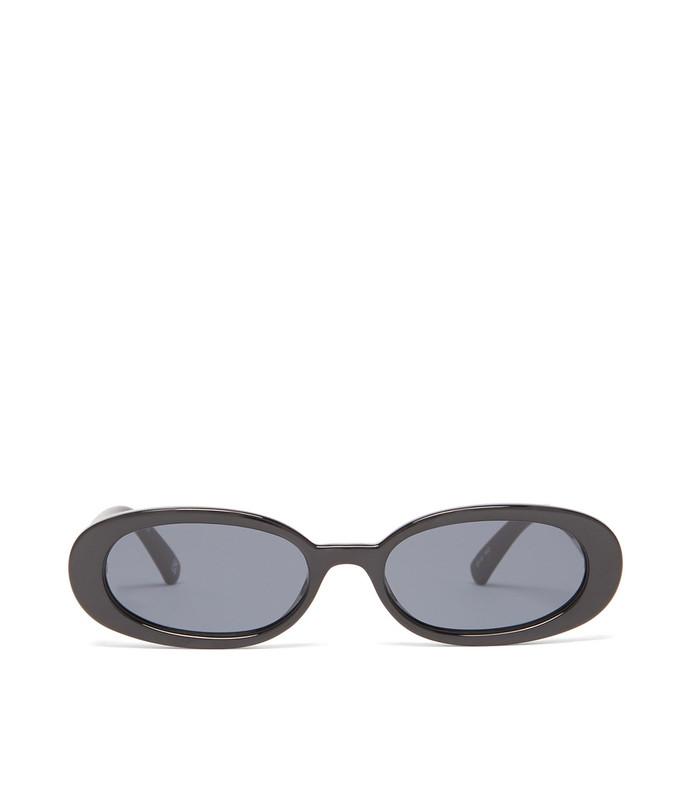 outta love oval acetate sunglasses