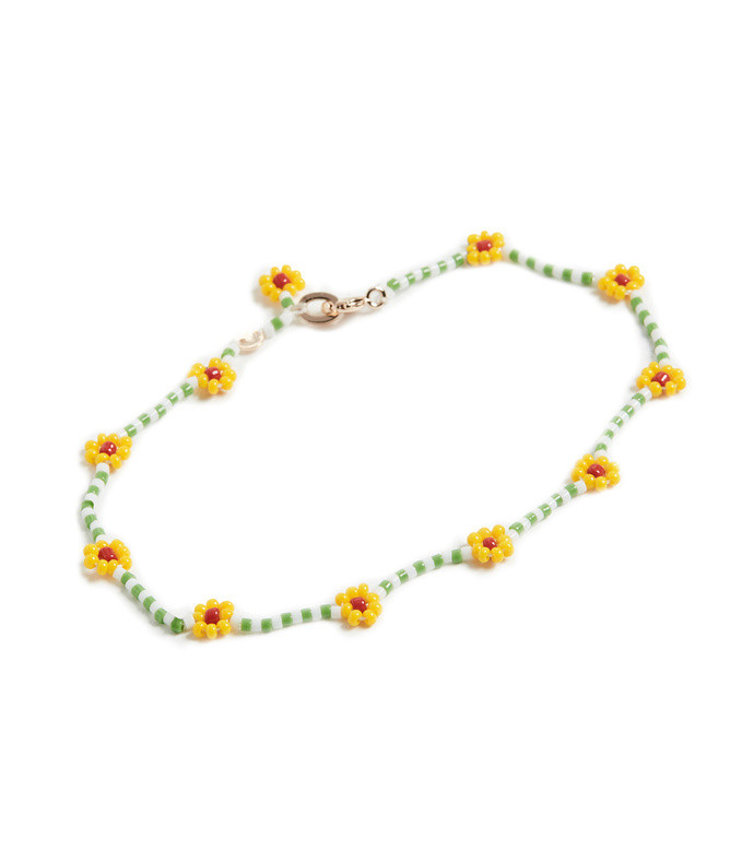 daisy green anklet