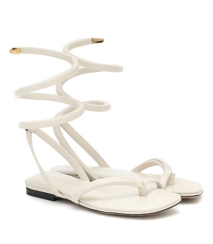 bv spiral thong sandals