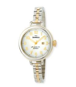 34 mm the birdy two-tone bracelet watch