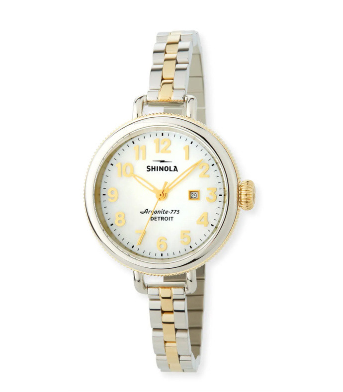 34 mm the birdy two-tone bracelet watch