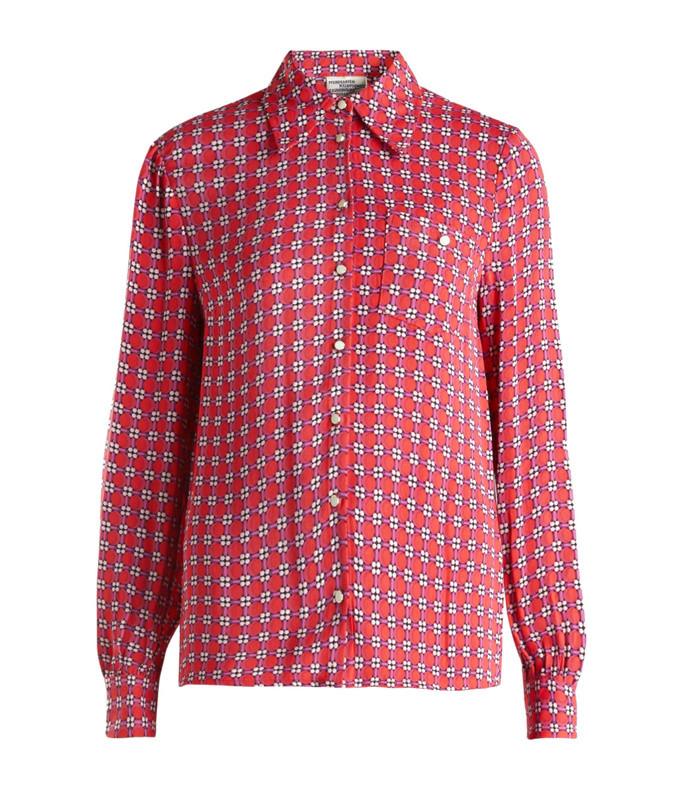 merry printed woven shirt