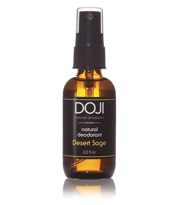 natural deodorant spray- desert sage