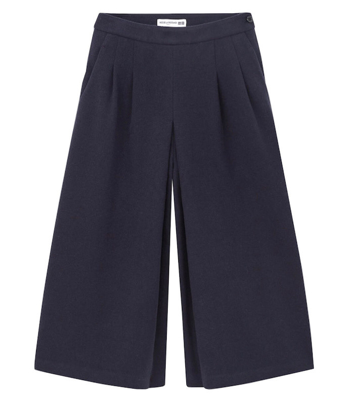 brushed jersey culottes