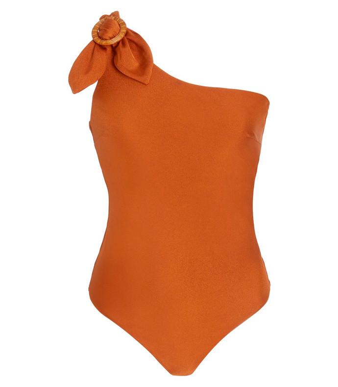 estelle asymmetric one-piece swimsuit