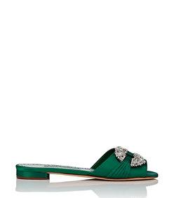 pralina satin slide sandals