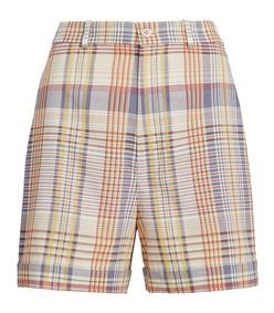 madras cotton short