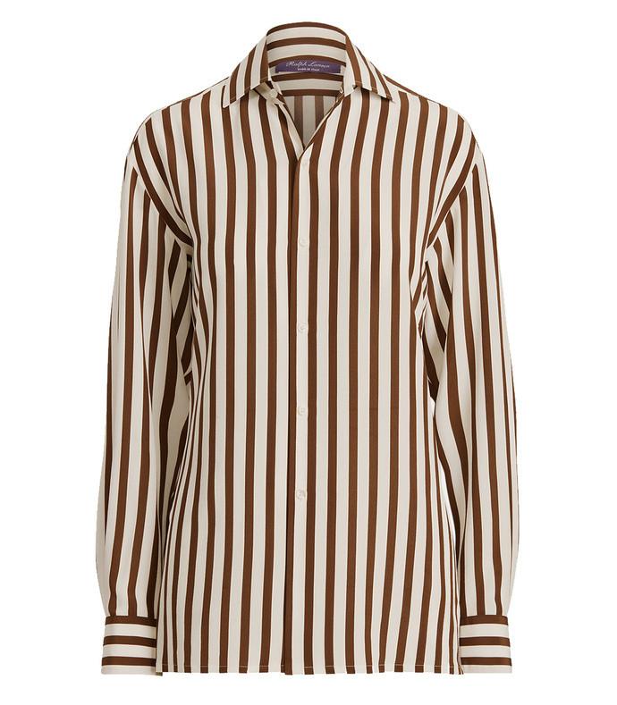 capri striped cotton shirt