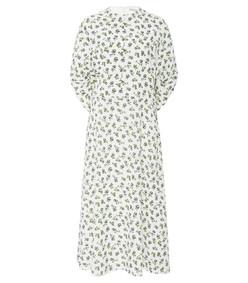carmen floral-print dress