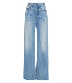 carla super high-rise bell jeans