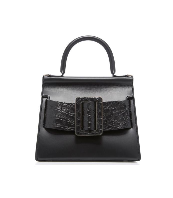karl 24 crocodile and leather bag