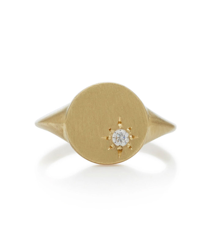 sunshine 9k gold zircon ring