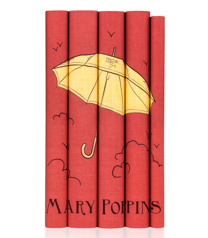 mary poppins hardcover book set