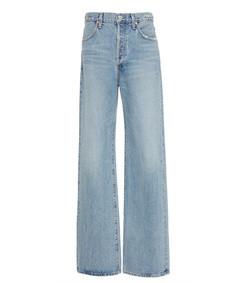 annina high-rise wide-leg jeanss