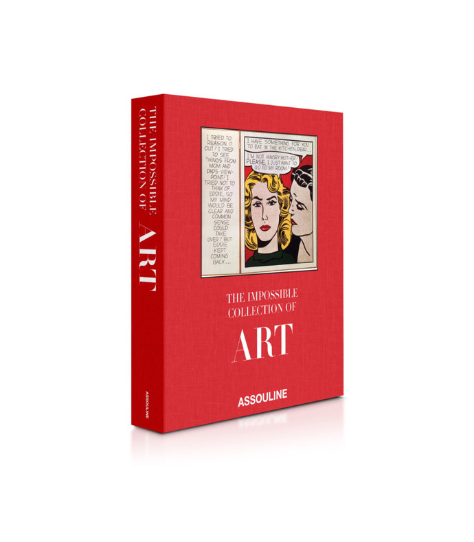 the impossible collection of art hardcover