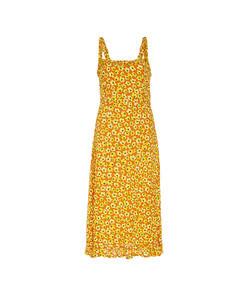 noemie floral-print crepe midi dress