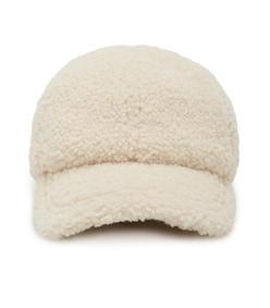 dowling faux shearling baseball cap