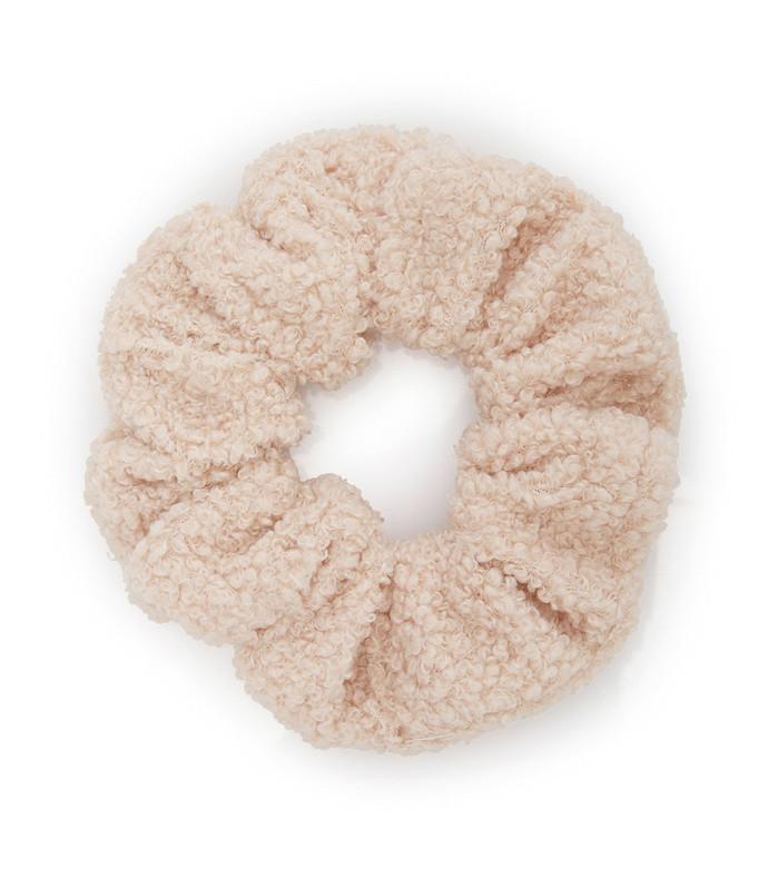chiquita mini sherpa scrunchie