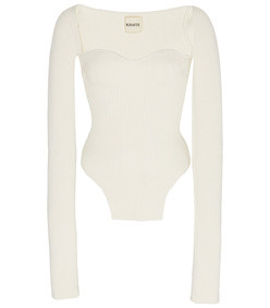 maddy cotton bustier top