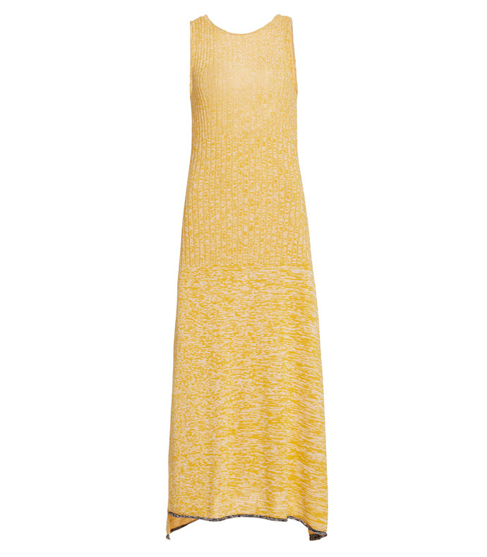 darla ribbed-knit maxi dress