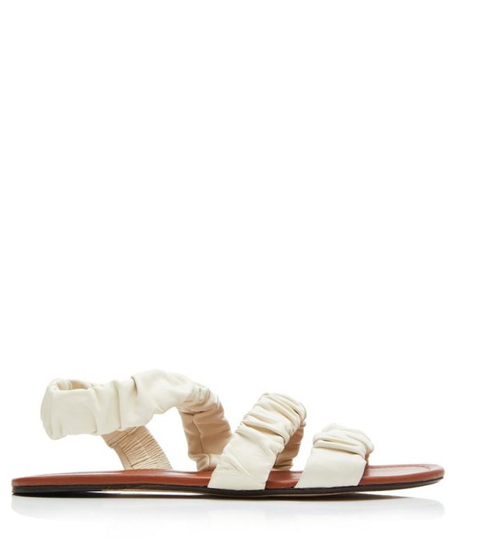 ellie ruched sandals