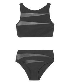 oriana + gabriella mesh-paneled bikini
