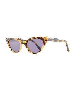 isabella cat-eye acetate sunglasses