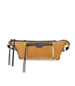 elliot large shearling fanny pack