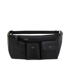 leather pouch belt bag