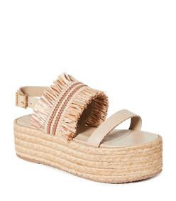 fiji flatform sandals