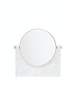tabletop mirror with magnifying option