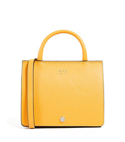 mini prism satchel- sun yellow