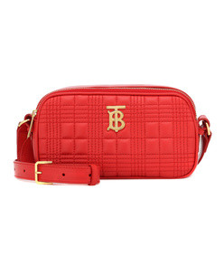 tb camera quilted leather belt bag