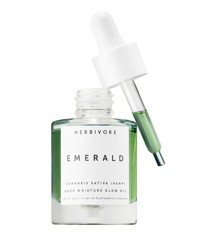 emerald cannabis sativa hemp seed deep moisture glow oil