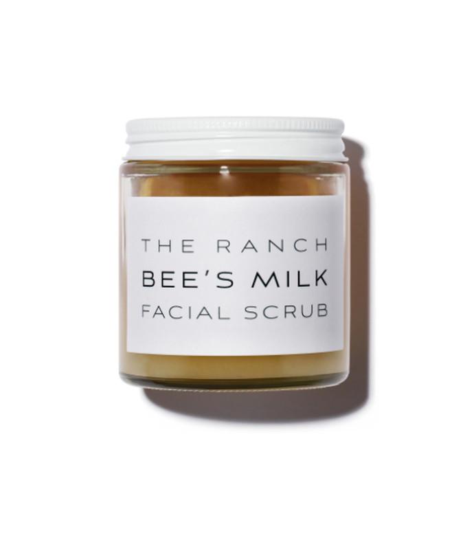 bee's milk facial scrub