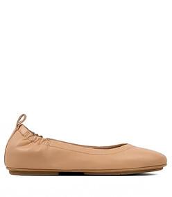 allegro leather ballet flats