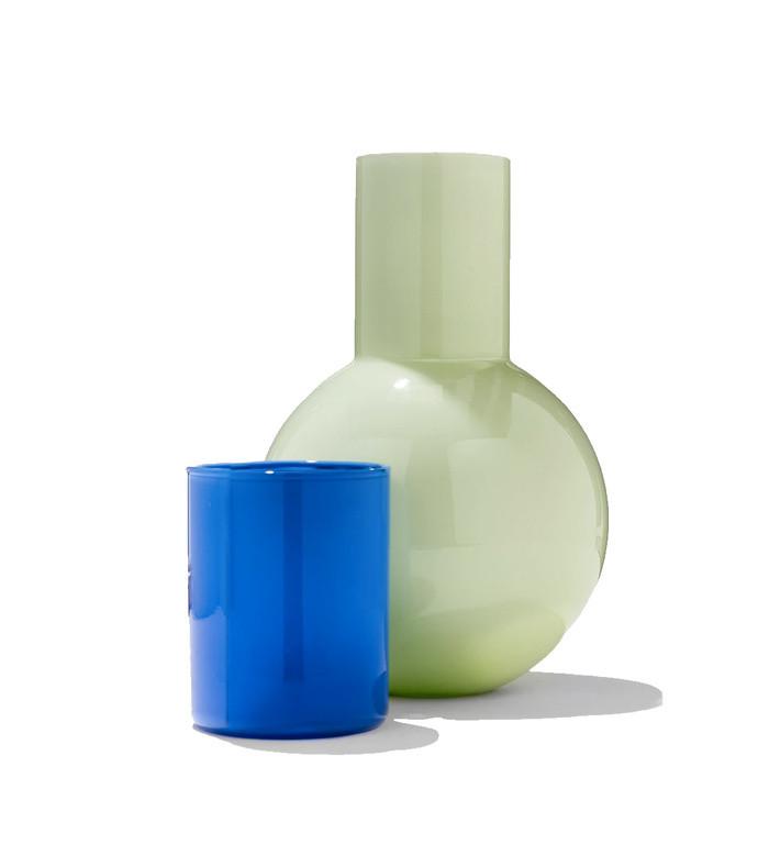 anna karlin green carafe blue cup